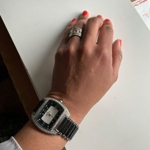 LUCIEN PICCARD All-Around Diamonds Watch (50% OFF)